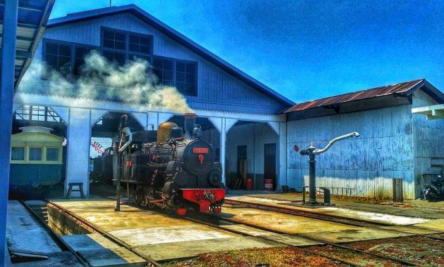 Menengok Sejarah Transportasi yang Tak Lekang Waktu di Ambarawa